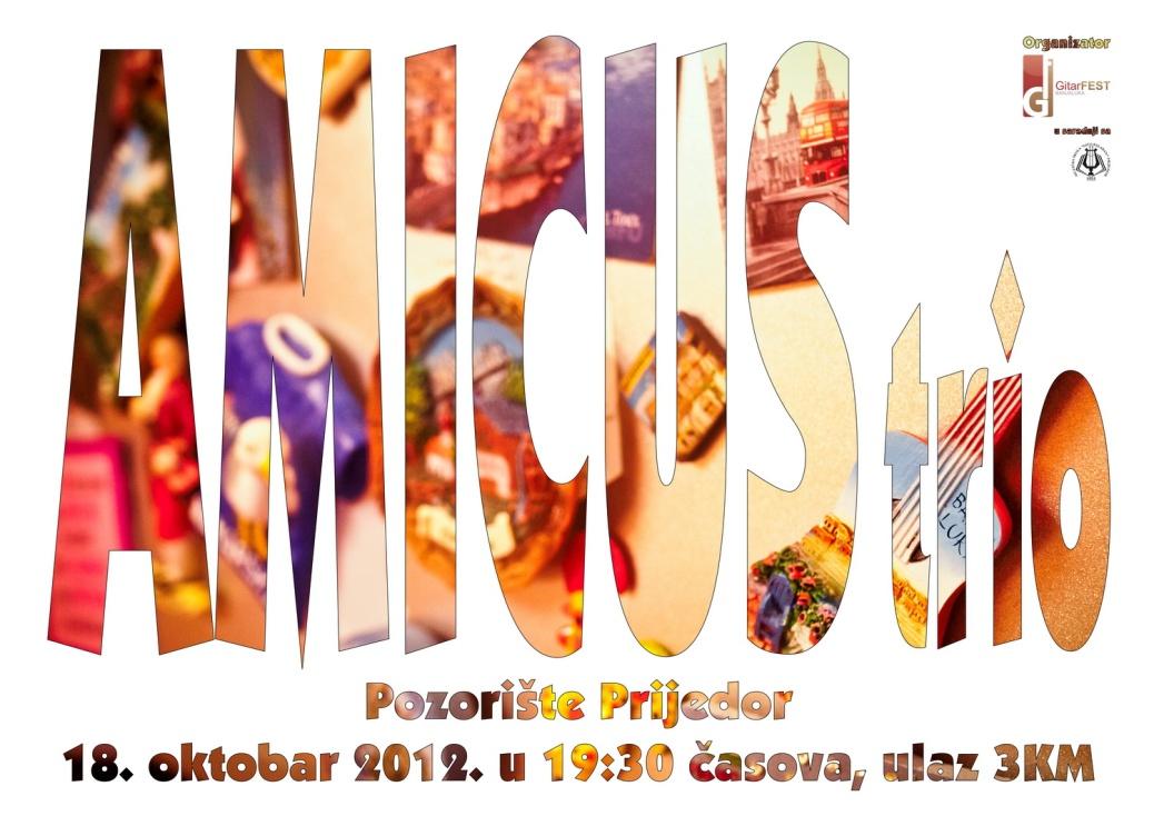 Plakat Amicus B1